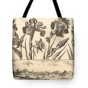Flower Print No.3 Tote Bag