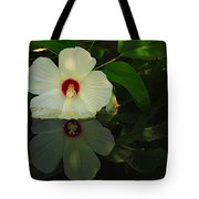 Flower Reflection Tote Bag