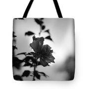 Flower Silhouette Tote Bag