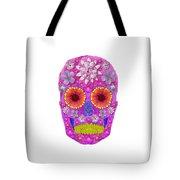 Flower Skull 2 Tote Bag