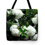 Flower Snow Balls Tote Bag