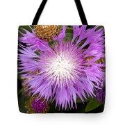 Flower Snowflake Tote Bag