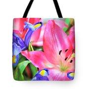 Flower Soft  Tote Bag