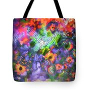 Flower Song Tote Bag