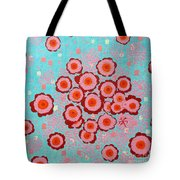 Flower Spreading  Tote Bag
