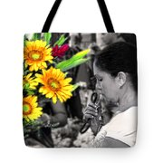Flower Stall Tote Bag