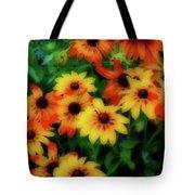 Flower Sunshine Tote Bag
