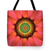 Flower Translucent 14 Tote Bag