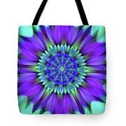 Flower Translucent 19 Tote Bag