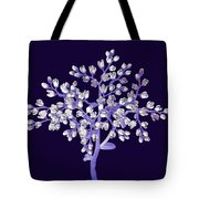 Flower Tree Tote Bag