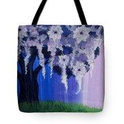 Flower Tree  Tote Bag