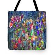 Flower Trees Tote Bag