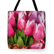 Flower - Tulip - A Young Girls Delight Tote Bag