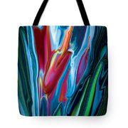 Flower Unknown Tote Bag