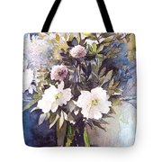 Flower Vase Tote Bag