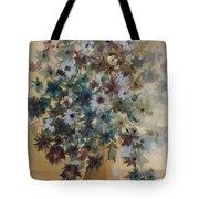 Flower Vase Original Watercolor Tote Bag