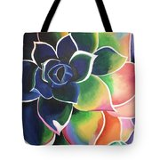Flower Vibes Tote Bag
