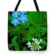Flower Vision Tote Bag