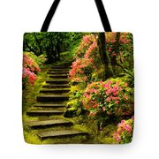 Flower Walk Tote Bag