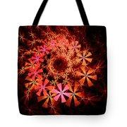 Flower Whirlpool Tote Bag