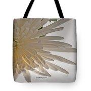 Flower-white Tote Bag