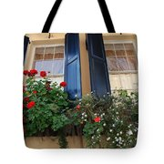 Flower Window In Charleston Sc Tote Bag