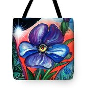 Flower With Eye. Plant From Space Tote Bag