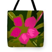 Flower Work Number 17 Tote Bag