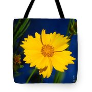 Flower Yellow Tote Bag