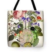 Flowerbomb Notes 3 - By Diana Van  Tote Bag