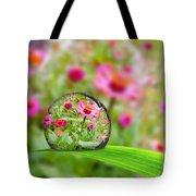 Flowerdrop Tote Bag