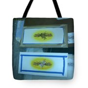 Flowered Doors 3 Tote Bag