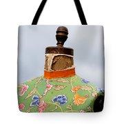 Flowered Form Tote Bag