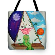 Flowered Out Tote Bag