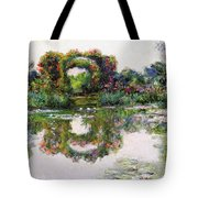 Flowering Arches, Giverny Tote Bag