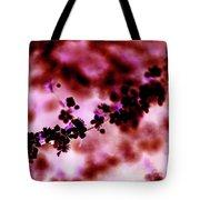 Flowering Branch In Pink Tote Bag