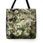 Flowering Branches Tote Bag