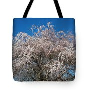 Flowering Cherry  Tote Bag