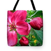 Flowering Crab Apple Tote Bag