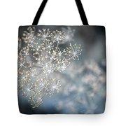 Flowering Dill Macro Tote Bag