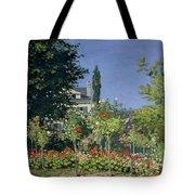 Flowering Garden At Sainte-adresse Tote Bag