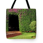 Flowering Garden Tote Bag