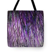 Flowering Grass Of The Future Tote Bag