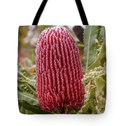 Flowering In Red Tote Bag