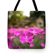 Flowering In The Front Tote Bag