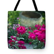 Flowering Landscape Tote Bag