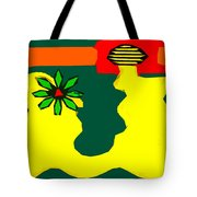 Flowering Melody 2 Tote Bag