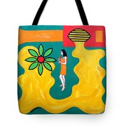 Flowering Melody Tote Bag