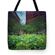 Flowering Oasis Tote Bag