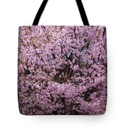 Flowering Pink In Spring Tote Bag